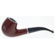Hand Pipe - Tobacco Wood - 002