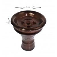 Khalil Mamoon Large Glazed Clay Bowl