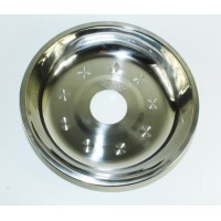 Sultana Hookah Tray - Large Silver (26 cm)