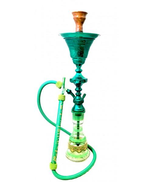 "Sultana Hookah - 1001 Nights Single Ice - Green (32"")"