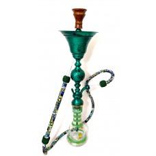 """Sultana Hookah - Divot Orb w/Ice - Green (35"""")"""