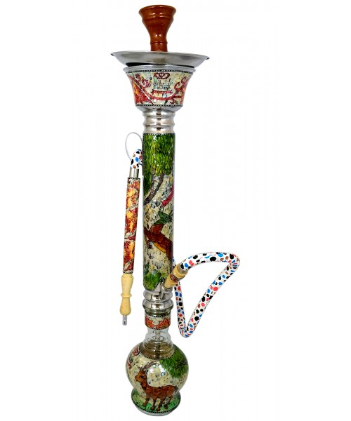 "Sultana Hookah - Hand Drawing Ice (Deer) (41"")"