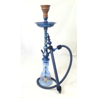 "Sultana Hookah - Twisted Blue (30"")"
