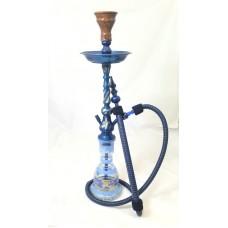 "Sultana Hookah - Twisted Blue (30"")"