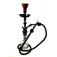 "Sultana Hookah - Mini Sugar Pieces Black (22"")"