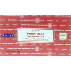 Nag Champa Fresh Rose Incense