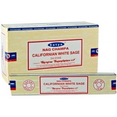 Nag Champa California White Sage Incense