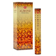 Incense - Hem Almond (Box of 120 Sticks)