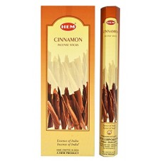 Incense - Hem Cinnamon (Box of 120 Sticks)