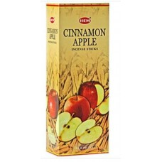 Incense - Hem Cinnamon Apple  (Box of 120 Sticks)