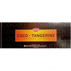 Incense - Hem Coco Tangerine (Box of 120 Sticks)