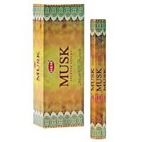 Incense - Hem Musk  (Box of 120 Sticks)
