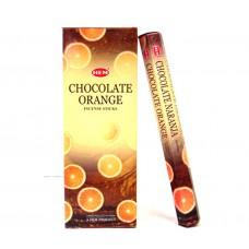 Incense - Hem Orange Chocolate (Box of 120 Sticks)