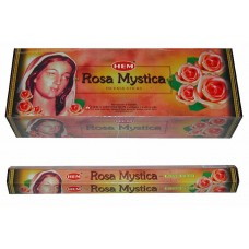 Incense - Hem Rose Mystica (Box of 120 Sticks)