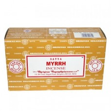 Incense - Nag Champa 15g Myrrh (Box of 12)