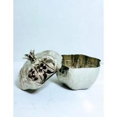 Metal Serving Bowl w/ Lid