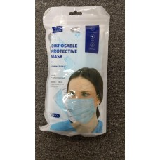 Face Mask - 10  Masks Per Pack (COMES IN DISPLAY OF 5)