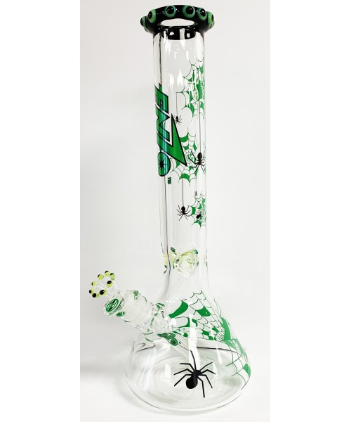 """Water Pipe - 16"""" Enzo Spider (Green)"""