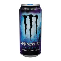 Monster Blue Stash Can