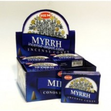 Hem Dhoop Cones - Myrrh Incense