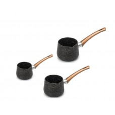3 Piece Granite Coffee Warmer Set 325 ml, 425 ml, 575 ml (PSH091)
