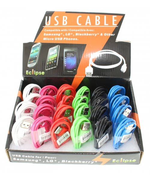 USB Cable For Samsung/Blackberry/LG