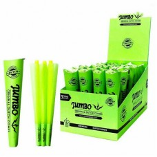 Rolling Paper - Jumbo Green Cones King Size (32 Units)