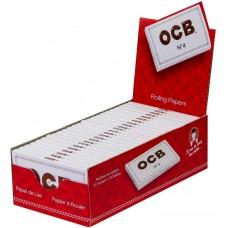 Rolling Paper - OCB No.4 (Red/White) Double Premium (25 x 100 Units)