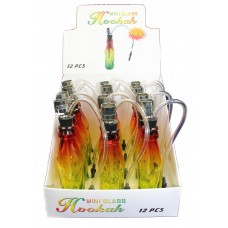 Rasta Bottle Pipe Display