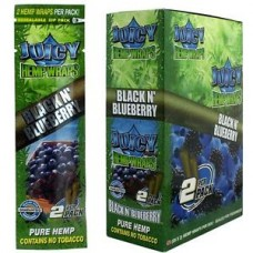 Hemp Wrap Juicy Jay's -  Black N Blueberry