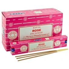 Incense - Nag Champa 15g Indian Rose (Box of 12)