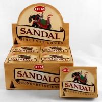 Hem Dhoop Cones - Sandal Incense
