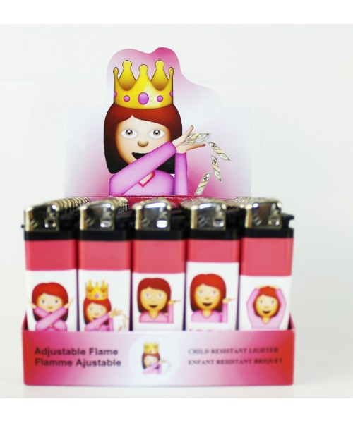 Disposable Fancy Lighters - Princess