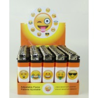 Disposable Fancy Lighters - Smiley Face II