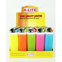 Disposable Fancy Lighters - Neon