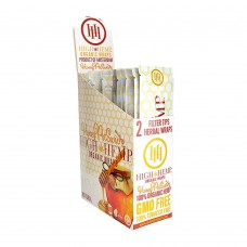 Hemp Wrap - High Hemp - Honey Pot Swirl (25 Packs)