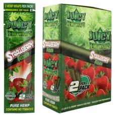 Hemp Wrap Juicy Jay's -  Strawberry Fields