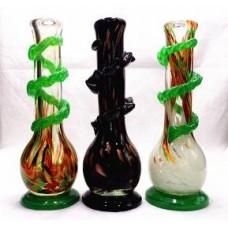 """Softglass Water Pipe 12"""" Fancy"""