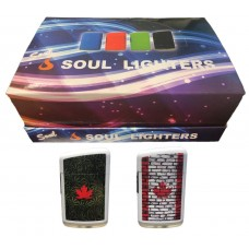 Soul Torch Lighter (20/Display) - Canada Flag