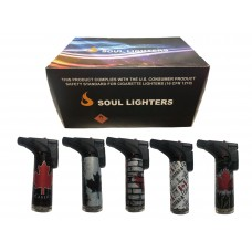 Soul Torch Lighter (15/Display) - Canada Flag