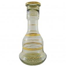 Sultana Glass Base - Gold Stripes (size 32)