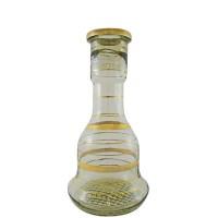 Sultana Glass Base - Gold Stripes (size 26)