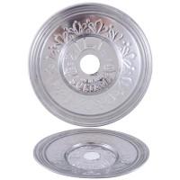 Sultana Hookah Tray - Large Silver (26cm)