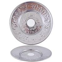 Sultana Hookah Tray - Medium Silver (23cm)