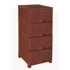 4 Drawers Storage - Plastic
