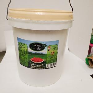 Grain Garden - Pickled Turnips (10 kg Bucket)