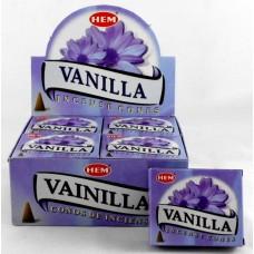 Hem Dhoop Cones - Vanilla Incense
