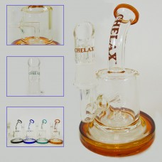 "6"" Chelax Oil Water Pipe With inline Percolator"