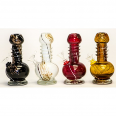 """Soft Glass Water Pipe 6"""" IV"""
