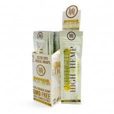 Hemp Wrap - High Hemp - Banana Goo (25 Packs)